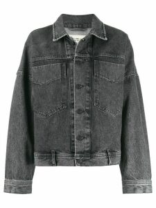 Diesel boxy denim jacket - Grey