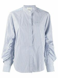 3.1 Phillip Lim striped pattern shirt - Blue