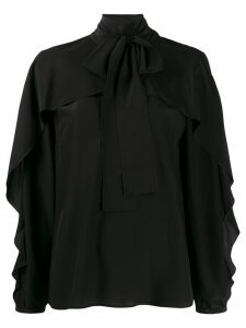 Red Valentino pussy-bow blouse - Black