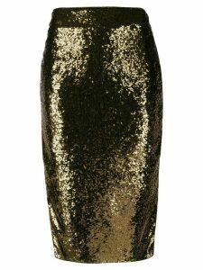 Michael Michael Kors sequinned skirt - GOLD