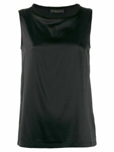 Fabiana Filippi round neck blouse - Black