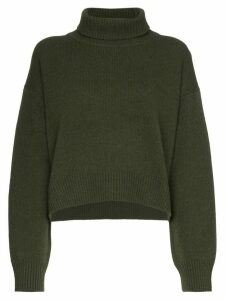 Rejina Pyo Lyn cashmere turtleneck jumper - Green