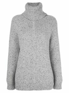 Adam Lippes raglan-sleeve knitted jumper - Grey