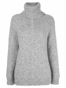 Adam Lippes raglan-sleeve knitted jumper - Grey