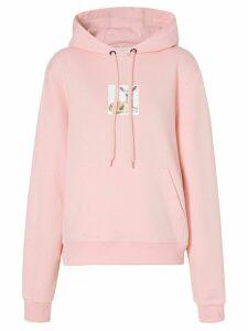 Burberry deer print hoodie - PINK