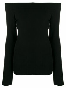 Dolce & Gabbana off-shoulder fitted top - Black