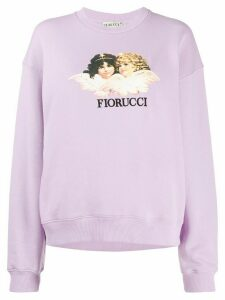 Fiorucci Vintage Angels relaxed-fit sweatshirt - PURPLE
