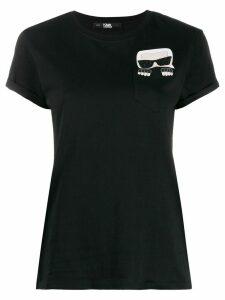 Karl Lagerfeld Karl motif T-shirt - Black