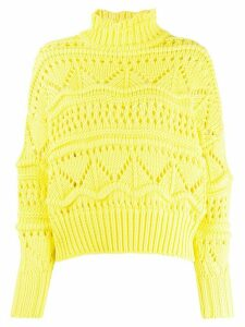 Isabel Marant Étoile Naka roll-neck jumper - Yellow