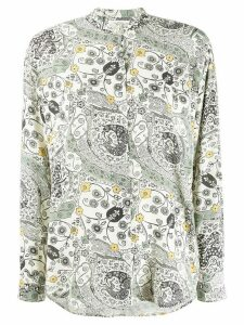 Isabel Marant Étoile Catchell long-sleeve blouse - NEUTRALS
