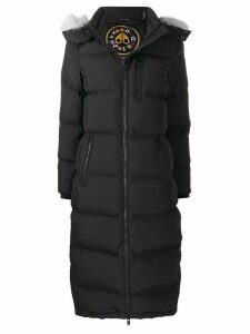 Moose Knuckles long-sleeve padded coat - Black