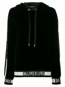 Dolce & Gabbana Love is love hoodie - Black