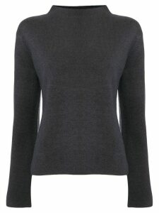 Des Prés slit sleeved jumper - Blue