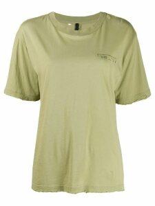 UNRAVEL PROJECT logo short-sleeve T-shirt - Green