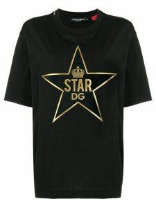 Dolce & Gabbana Millennials Star print T-shirt - Black