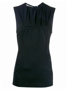 Chalayan gathered chest top - Blue