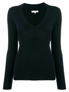 Vince ribbed knit jumper - Blue