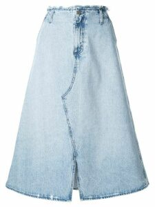 Nobody Denim Siena A-line skirt - Blue
