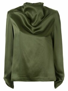 Dion Lee twisted long sleeve top - Green