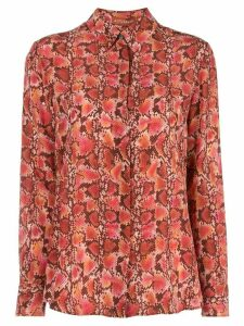 Altuzarra Chika silk-crepe blouse - Red