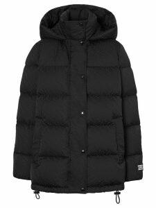 Burberry monogram puffer jacket - Black