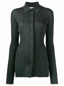 Bottega Veneta ribbed buttoned cardigan - Grey