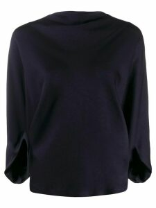 Chalayan Signature boatneck top - Blue
