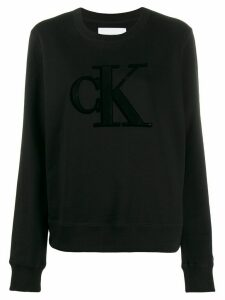 Calvin Klein Jeans Bae logo sweatshirt - Black