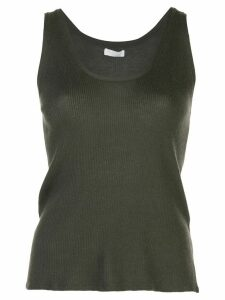 SABLYN ribbed tank top - Green