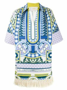 La Doublej Honolulu printed tunic - White