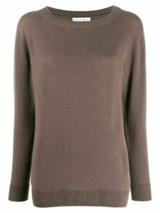 Stefano Mortari dropped shoulder jumper - Brown