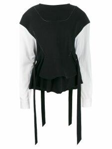 Chalayan adjustable corset top - Black