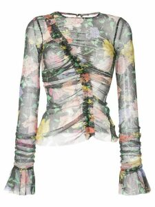 Alice McCall Cosmic Dancer floral print top - Black