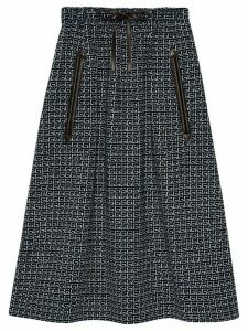 Gucci Square G midi skirt - Blue