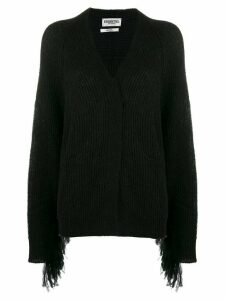 Essentiel Antwerp Viscom knitted cardigan - Black