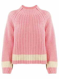 Essentiel Antwerp Venezia ribbed jumper - PINK