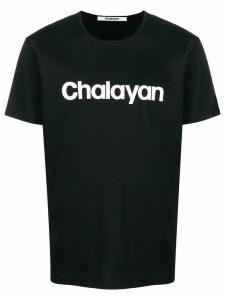 Chalayan branded T-Shirt - Black