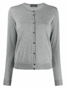 Roberto Collina slim fit cardigan - Grey