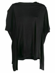 Diesel draped kaftan top - Black