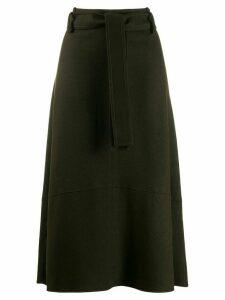 Vince high rise midi skirt - Green