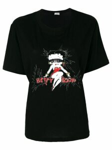 Saint Laurent Betty Boop T-shirt - Black