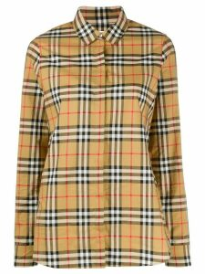 Burberry Vintage check shirt - NEUTRALS