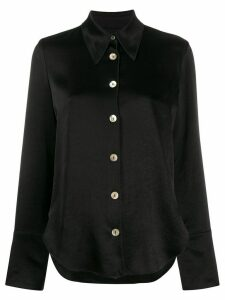 Nanushka wide sleeve blouse - Black