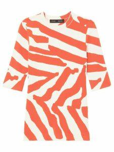 Proenza Schouler printed halfsleeved T-shirt - ORANGE