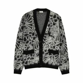 Saint Laurent Monochrome Wool-blend Cardigan