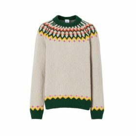 Burberry Fair Isle Wool Sweater