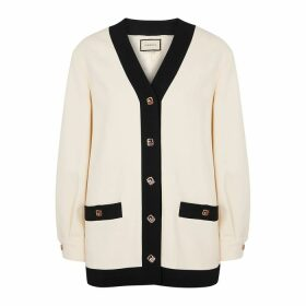 Gucci Monochrome Stretch-cady Cardigan