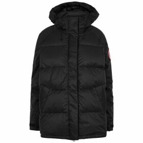 Canada Goose Approach Black Quilted Shell Jacket