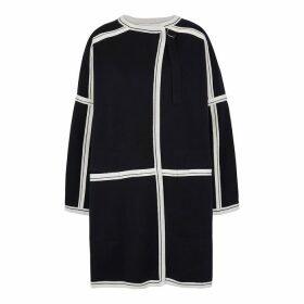Chloé Navy Knitted Wool Jacket