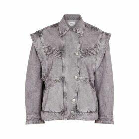 Isabel Marant Étoile Harmon Grey Denim Jacket